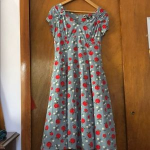 Hell Bunny retro dress size Small